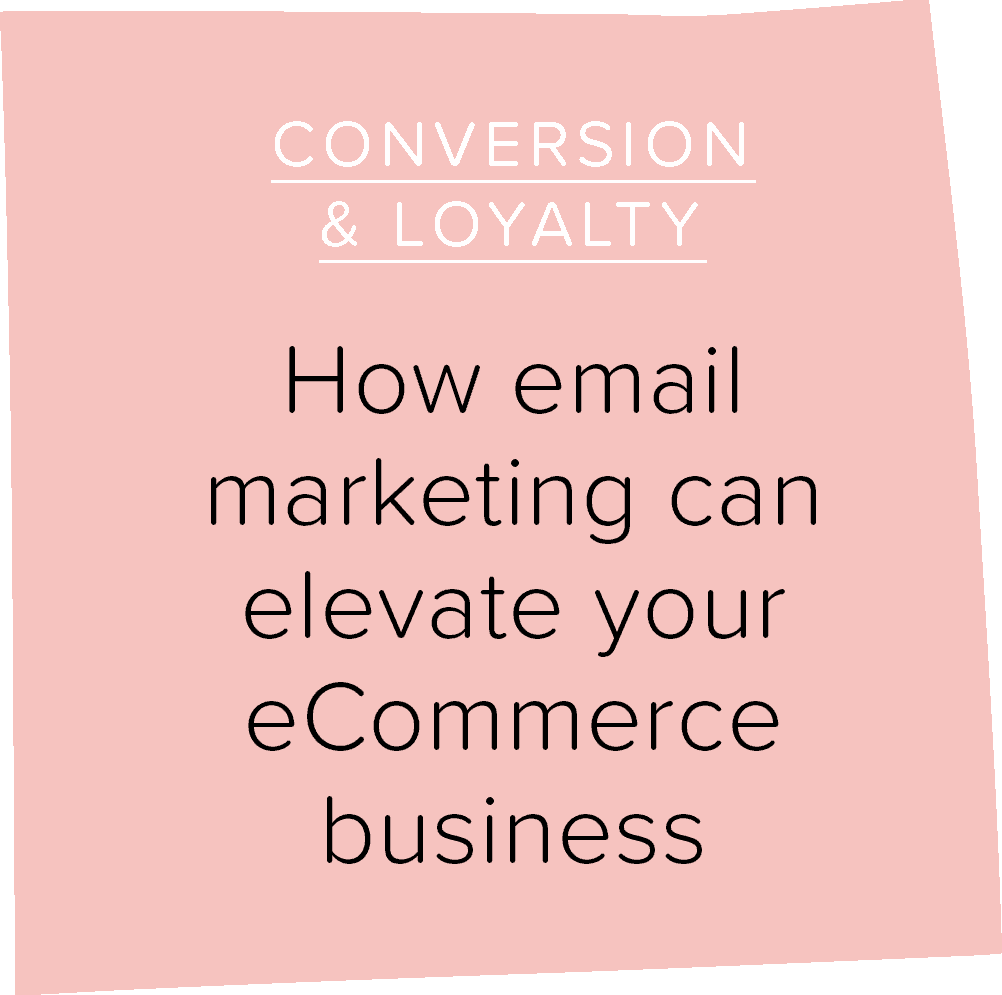 How email marketing can elevate your eCommerce business