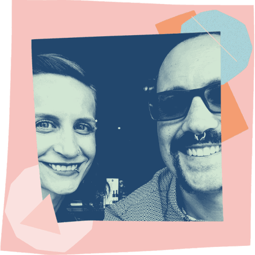 The efficiency hub experts team - Bec and Andy Losik - Copywriter and Graphic Designer