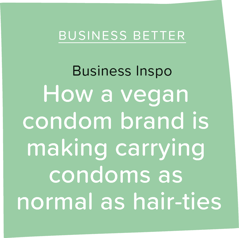 How a vegan condom brand is making carrying condoms as normal as hair-ties