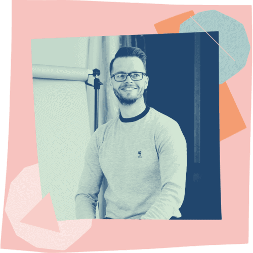 The efficiency hub experts team - Simon Martin - Illustrator + Art Director