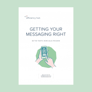 getting your messaging right workbook