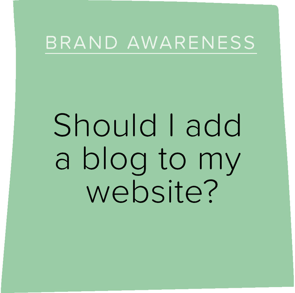 Should I add a blog to my website?