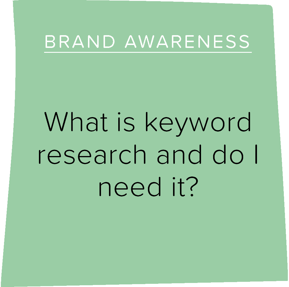 What is keyword research and do I need it?